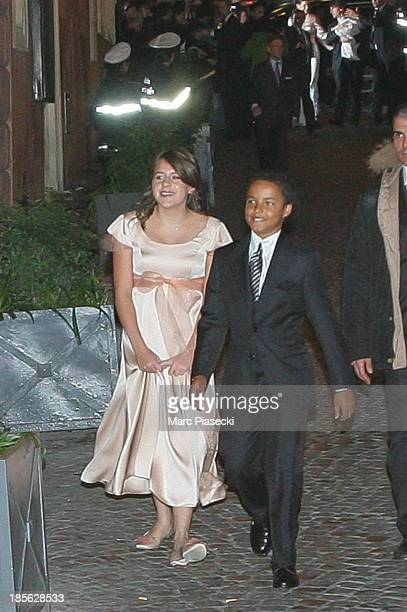 Isabella KidmanCruise and Connor KidmanCruise arrive at the 'Nino' restaurant two days ahead Tom Cruise and Katie Holmes wedding in Rome on November...