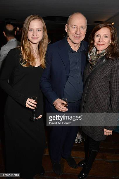 Isabella Knopfler Mark Knopfler and Belinda Lang attend an after party celebrating the Once The Musical Oxfam Gala at Paramount on March 17 2014 in...