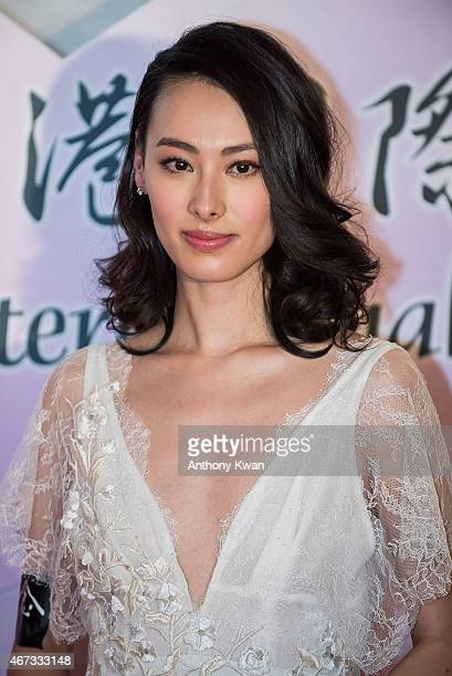 Isabella Leong attends the Grand Opening during the 39th Hong Kong International Film Festival at Hong Kong Convention and Exhibition Centre on March...