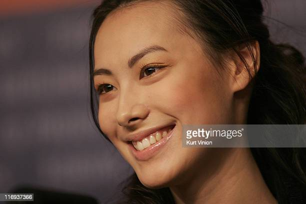 Isabella Leong during 56th Berlinale International Film Festival Isabella Press Conference at Berlinale in Berlin Germany