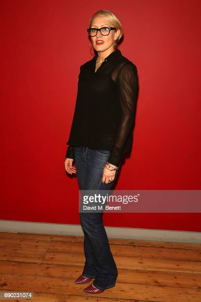 Isabella Macpherson attends a play reading of 'Building The Wall' by Robert Schenkkan presented by Platform Presents at The Bush Theatre on May 30...