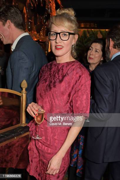 Isabella Macpherson attends the 'Country Town House Great British Brands' party at Annabel's on January 27 2020 in London England