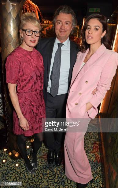 Isabella Macpherson Laurent Feniou and Gala Gordon attend the 'Country Town House Great British Brands' party at Annabel's on January 27 2020 in...