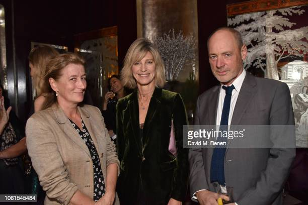 Isabella Naylor-Leyland, Nicola Formby and guest attend a VIP dinner hosted by Tom and Alice Naylor-Leyland to celebrate the arrival of 'Malton In...