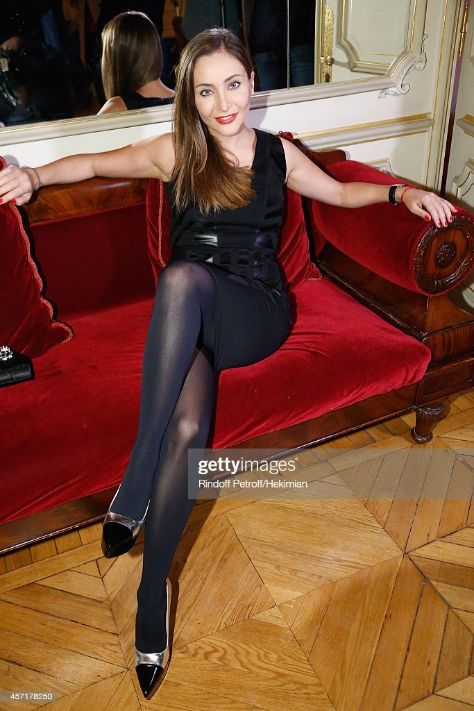 Nathalie Garcon's Book Signing : Cocktail Party At Hotel Regina In Paris