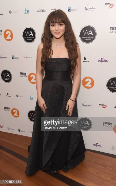 Isabella Pappas attends The WhatsOnStage Awards 2020 at The Prince of Wales Theatre on March 1 2020 in London England