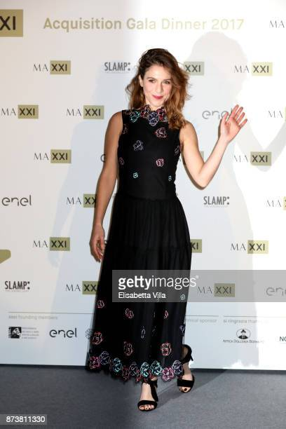 Isabella Ragonese attends MAXXI Acquisition Gala Dinner 2017 at Maxxi on November 13 2017 in Rome Italy