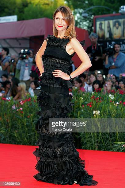 Isabella Ragonese attends the Closing Night and The Tempest world premiere during the 67th Venice Film Festival at the Sala Grande Palazzo Del Cinema...