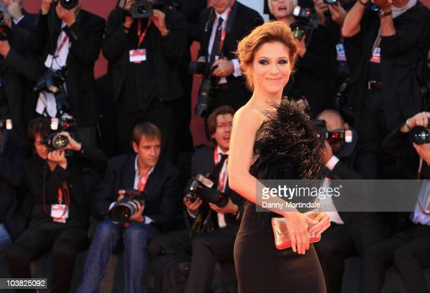 Isabella Ragonese attends the 'Somewhere' premiere at the Palazzo del Cinema during the 67th Venice International Film Festival on September 3 2010...