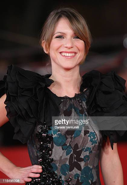 Isabella Ragonese attends the 'Viola Di Mare' Premiere during day 2 of the 4th Rome International Film Festival held at the Auditorium Parco della...