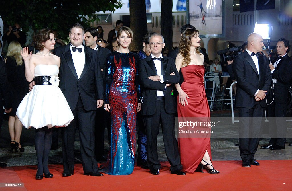 Isabella Ragonese, Marius Ignat, Alina Berzenteanu, director Daniele Luchetti and actress Stefania Montorsi attend the 'Our Life' Premiere held at the Palais des Festivals during the 63rd Annual International Cannes Film Festival on May 20, 2010 in Cannes, France.