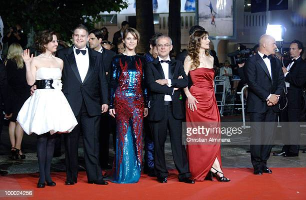 Isabella Ragonese Marius Ignat Alina Berzenteanu director Daniele Luchetti and actress Stefania Montorsi attend the 'Our Life' Premiere held at the...