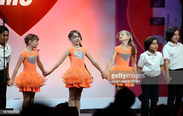 Isabella Rickel Mariella Rickel and dancers perform as the 20th Annual Race To Erase MS Gala Love To Erase MS at the Hyatt Regency Century Plaza on...