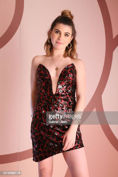 Isabella Rose Giannulli celebrates the Olivia Jade X Sephora Collection Palette Collaboration Launching Online at Sephoracom on December 14 2018 in...
