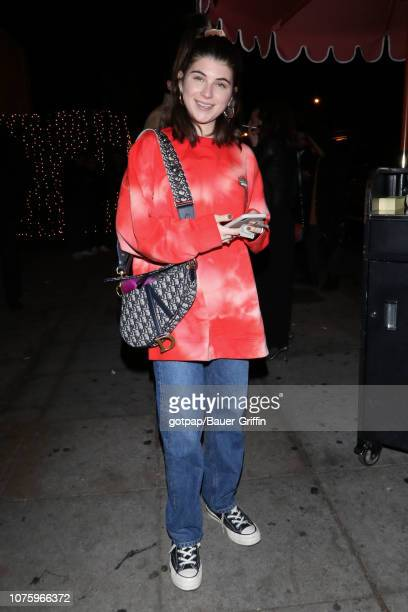 Isabella Rose Giannulli is seen on December 30 2018 in Los Angeles California
