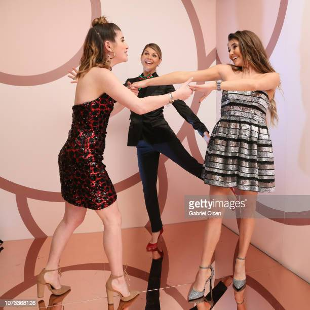 Isabella Rose Giannulli Olivia Jade Giannulli and Lori Loughlin celebrate the Olivia Jade X Sephora Collection Palette Collaboration Launching Online...
