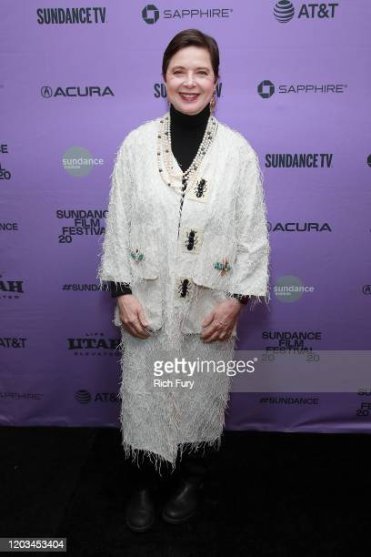 Isabella Rosellini attends the Awards Presenters Reception during the 2020 Sundance Film Festival at Basin Recreation Yoga Studio on February 01 2020...