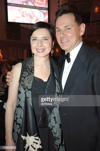 Isabella Rossellini and Bernd Beetz CEO Coty Inc
