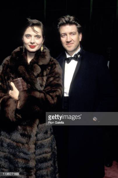 Isabella Rossellini and David Lynch during 10th Annual Kennedy Center Honors A Celebration of the Performing Arts at The State Department in...