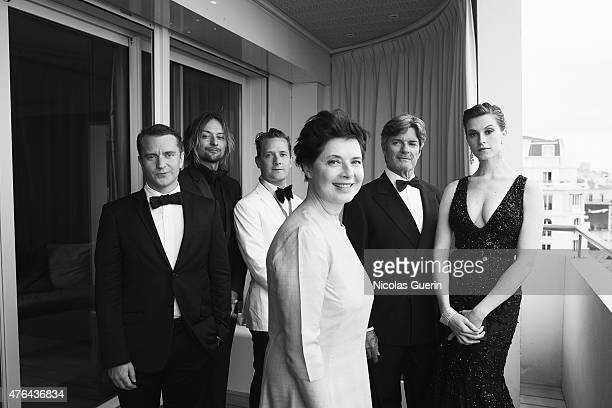 Isabella Rossellini and family are photographed for Self Assignment on May 15 2015 in Cannes France