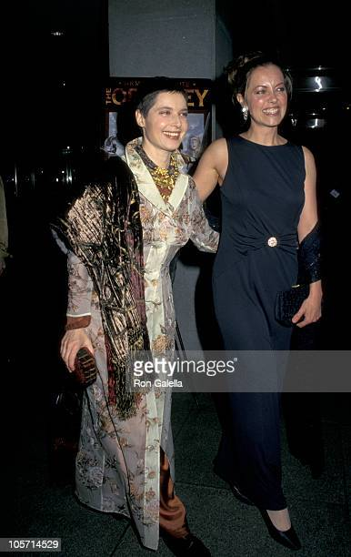 Isabella Rossellini and Greta Scacchi during NBC's The Odyssey New York City Screening at Museum of Modern Art in New York City New York United States