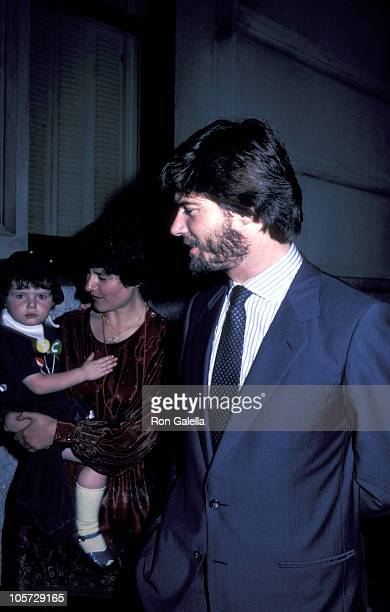 Isabella Rossellini and Roberto Rossellini during 30th Birthday Party for Ingrid and Isabella Rossellini at Pia's Central Park West Apt in New York...