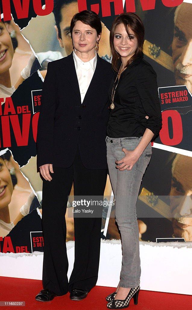 """Isabella Rossellini Attends a Photocall for """"La Fiesta del Chivo"""" (""""The Feast"""