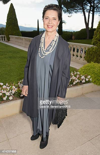 Isabella Rossellini arrives at amfAR's 22nd Cinema Against AIDS Gala, Presented By Bold Films And Harry Winston at Hotel du Cap-Eden-Roc on May 21,...