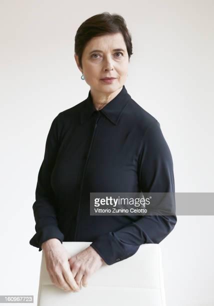 Isabella Rossellini attends a portrait session 63rd Berlinale International Film Festival on February 8 2013 in Berlin Germany