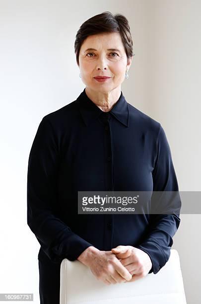 Isabella Rossellini attends a portrait session - 63rd Berlinale International Film Festival on February 8, 2013 in Berlin, Germany.
