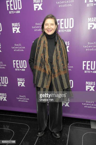 Isabella Rossellini attends Feud Tastemaker lunch at The Rainbow Room on February 14 2017 in New York City