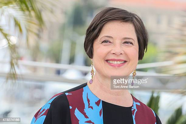 Isabella Rossellini attends the Jury Un Certain Regard photocall during the 68th annual Cannes Film Festival on May 14 2015 in Cannes France