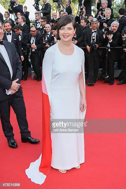 Isabella Rossellini attends the opening ceremony and 'La Tete Haute' premiere during the 68th annual Cannes Film Festival on May 13 2015 in Cannes...