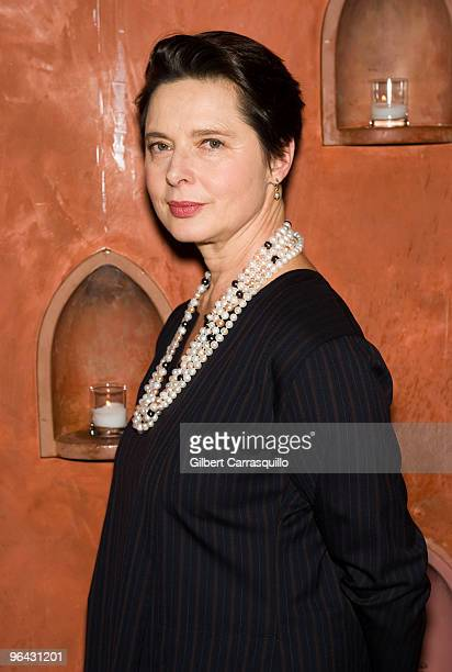 Isabella Rossellini attends the Sundance Channel screening of Big Night at Tangerine on February 4 2010 in Philadelphia Pennsylvania
