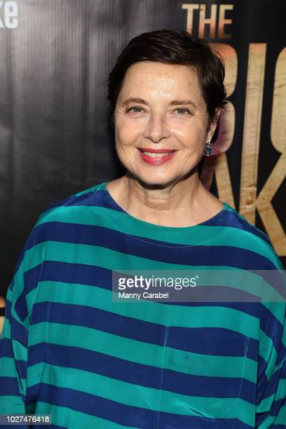 Isabella Rossellini attends the World Premiere of The Big Take at Metrograph on September 5 2018 in New York City