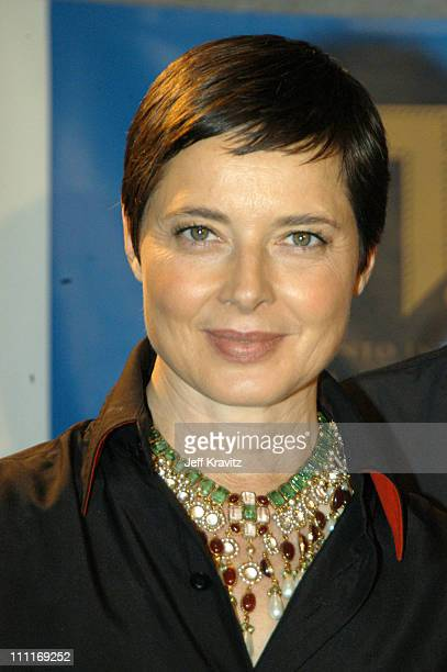 Isabella Rossellini during 2003 Toronto Film Festival The Saddest Music in the World Press Conference at Delta Chelsea Hotel in Toronto Ontario Canada