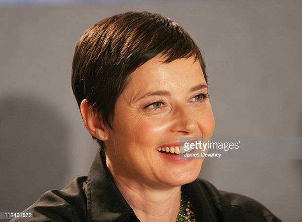 """Isabella Rossellini during 2003 Toronto International Film Festival - """"The Saddest Music in The World"""" Press Conference at Delta Chelsea Hotel in..."""