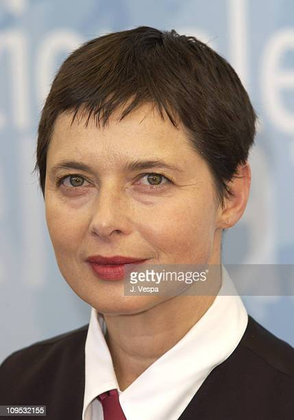 Isabella Rossellini during 2003 Venice Film Festival The Saddest Music in the World Photocall in Venice Lido Italy