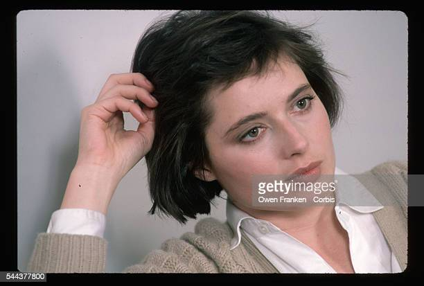 Isabella Rossellini during an interview with Stern Magazine promoting the film Blue Velvet
