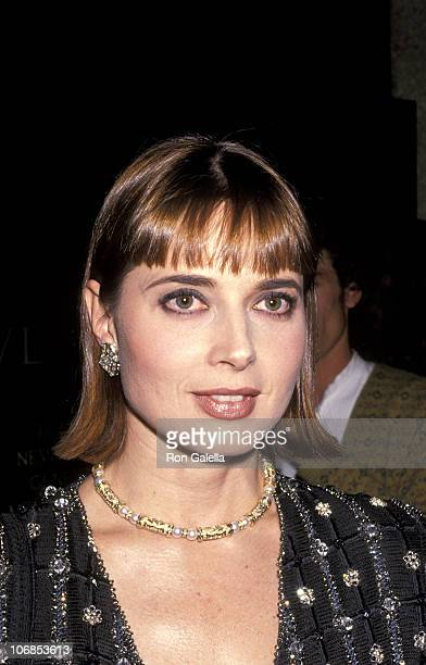Isabella Rossellini during Anima Mundi Premiere A 30 Minute Cinematic Tribute to Nature October 28 1991 at Lincoln Center in New York City New York...