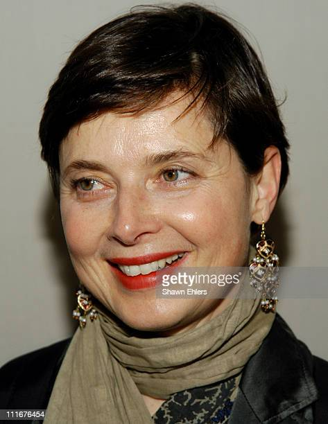 Isabella Rossellini during Opening Night Reception for Open Roads New Italian Cinema at Walter Reade Theatre in New York City New York United States