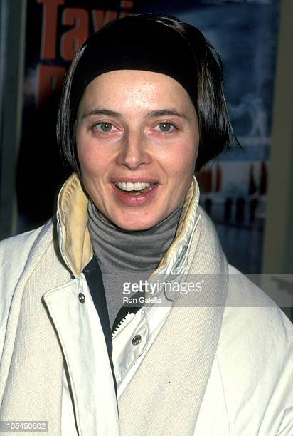 """Isabella Rossellini during """"Taxi Blues"""" New York City Benefit Premiere for Amnesty International at Florence Gould Hall in New York City, New York,..."""