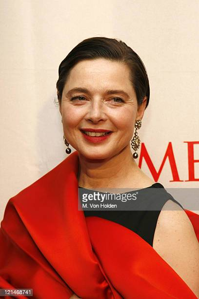 Isabella Rossellini during Time Magazine 100 Most Influential People 2006 Party at Jazz at Lincoln Center in New York New York United States