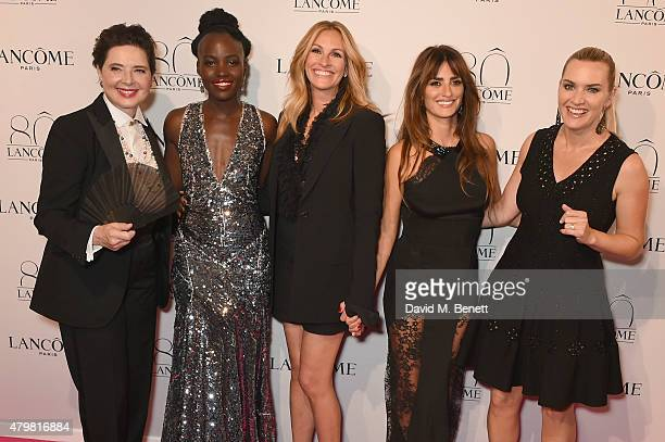 Isabella Rossellini, Lupita Nyong'o, Julia Roberts, Penelope Cruz and Kate Winslet attend the photocall for the Lancome Celebrates 80 Years of Beauty...