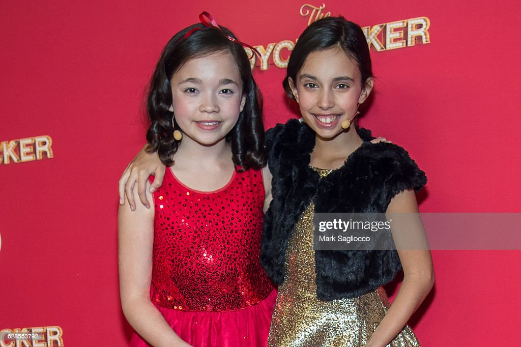 Isabella Russo and Kylie Cantrall attend Target's Toycracker Premiere Event at Spring Studios on December 7, 2016 in New York City.