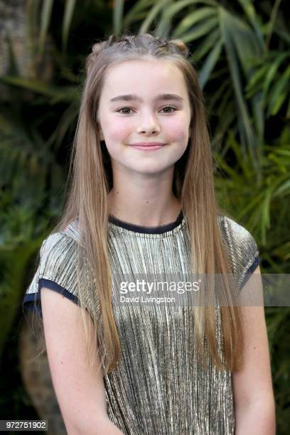 Isabella Sermon attends the premiere of Universal Pictures and Amblin Entertainment's Jurassic World Fallen Kingdom at Walt Disney Concert Hall on...