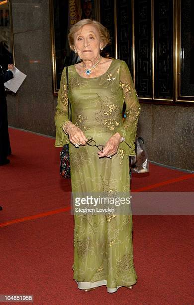 Isabella Stevenson during 2003 Tony Awards Arrivals at Radio City Music Hall in New York City NY United States