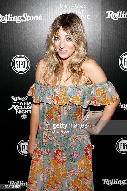 Isabella Summers of Florence and The Machine attends the launch of the allnew Fiat 500X at Boulevard3 on November 20 2014 in Hollywood California