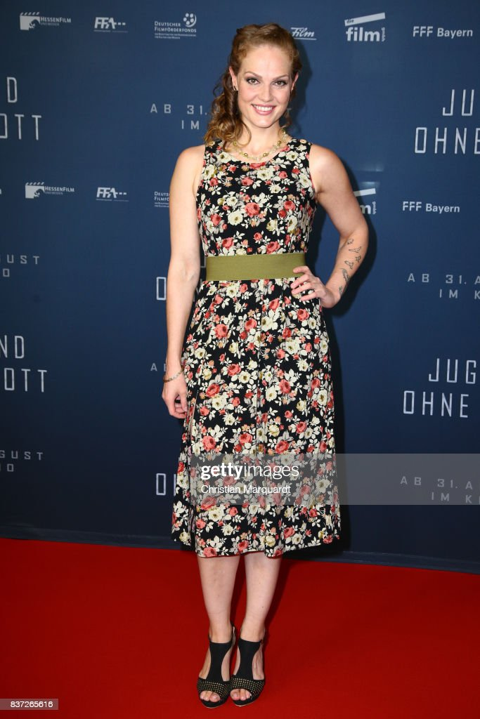 Isabella Vinet attends the premiere of 'Jugend ohne Gott' at Zoo Palast on August 22, 2017 in Berlin, Germany.