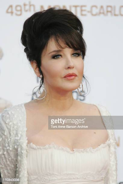 Isabelle Adjani arrives at the 49th Monte Carlo Television Festival Closing Ceremony at the Grimaldi Forum on June 11 2009 in MonteCarlo Monaco